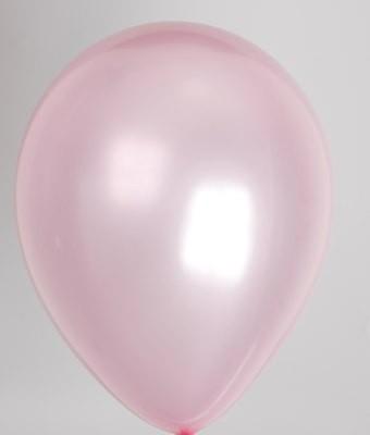 Verrassend licht roze metallic 25 stuks - Metallic ballonnen - ballonnen QI-93