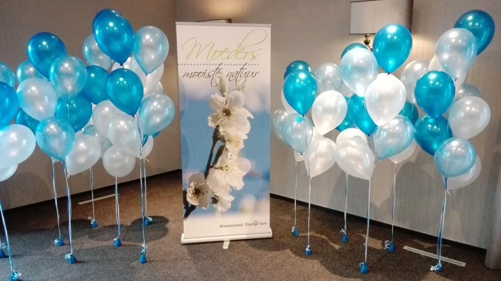 Helium ballon trosjes v a 5 95 ballonnen decoraties for Ballonnen versiering zelf maken
