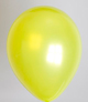 ballon lime groen metallic