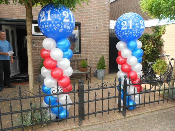 Ballonnen helium ballonnen ballonnenboog for Ballonnen decoratie zelf maken