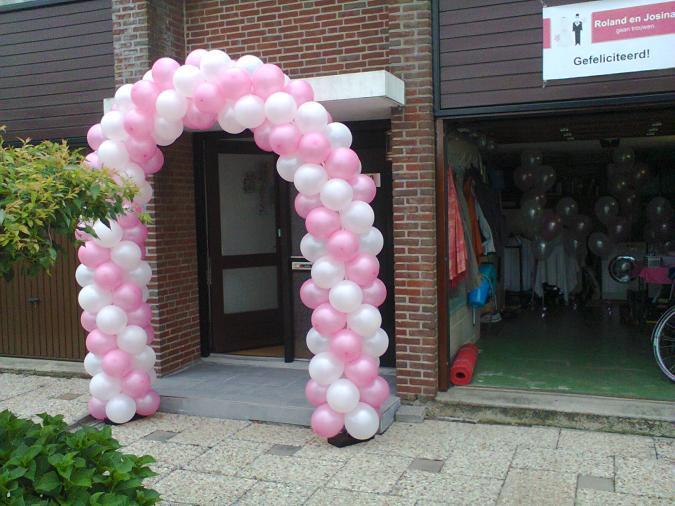 Ballonnenboog geplaatst bericht ballonnen helium for Ballonnen decoratie zelf maken
