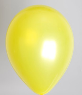 ballon geel metallic