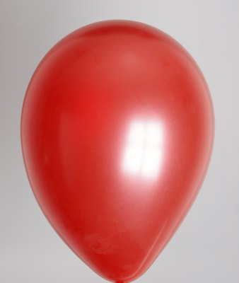 ballon rood metallic