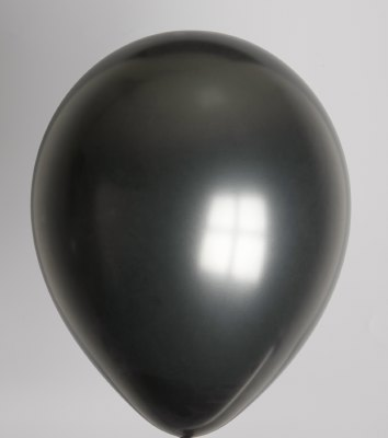ballon zwart metallic
